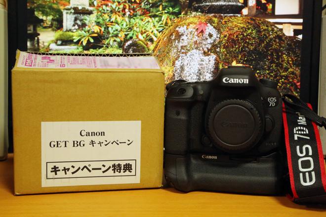 Canon EOS 7D Mark II & BG-E16(バッテリーグリップ)